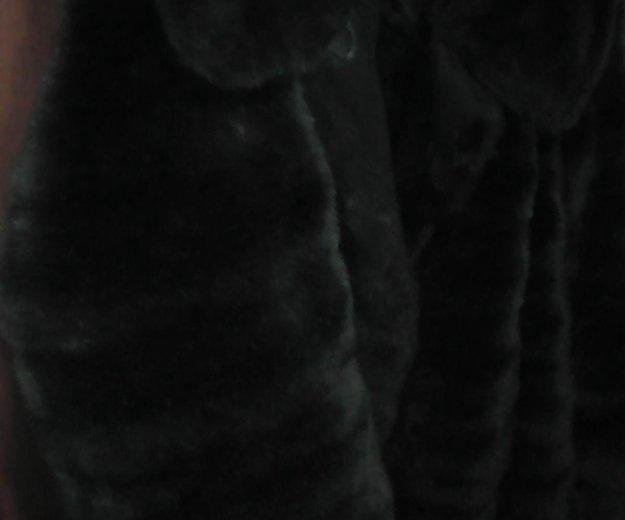 Шуба под норку и пальто. Фото 1. Краснодар.