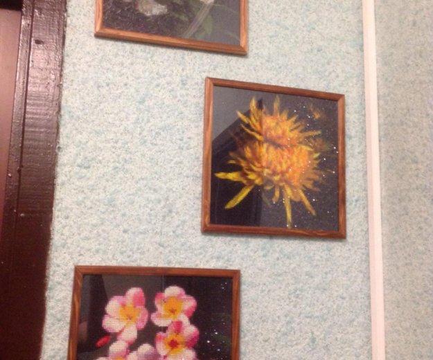 3 картины в технике алмазная вышивка. Фото 4. Москва.