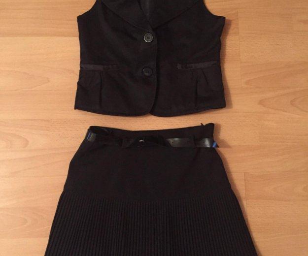 Школьная жилетка , юбка. Фото 4. Альбурикент.