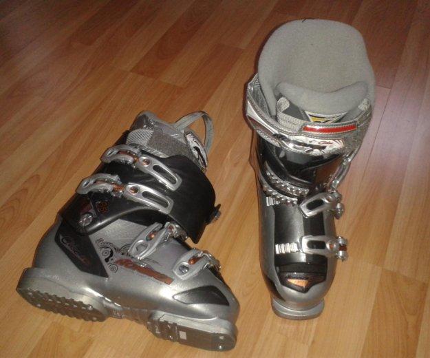 Горнолыжные ботинки. Фото 1. Омск.