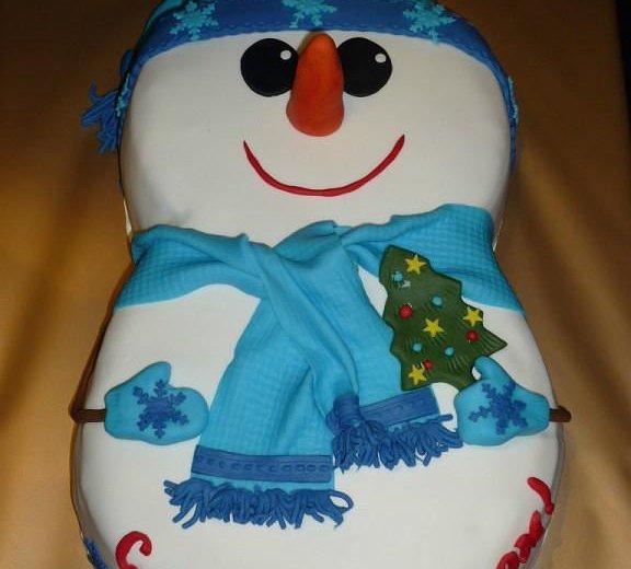 Новогодние торты. Фото 2. Краснодар.