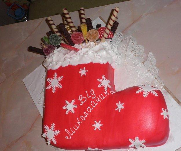 Новогодние торты. Фото 1. Краснодар.
