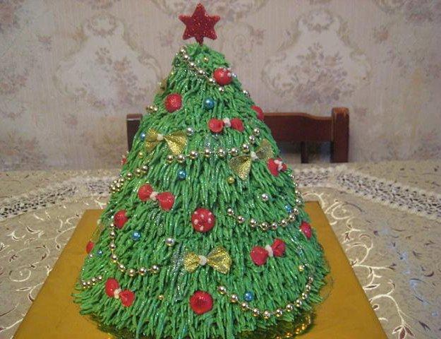 Новогодние торты. Фото 3. Краснодар.