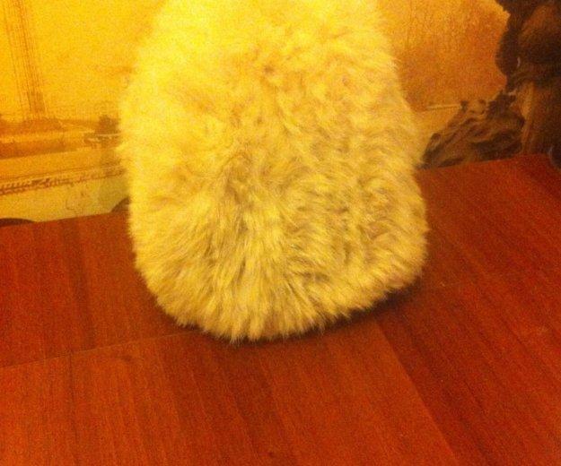Шапка из вязаного кролика. Фото 3. Красноярск.