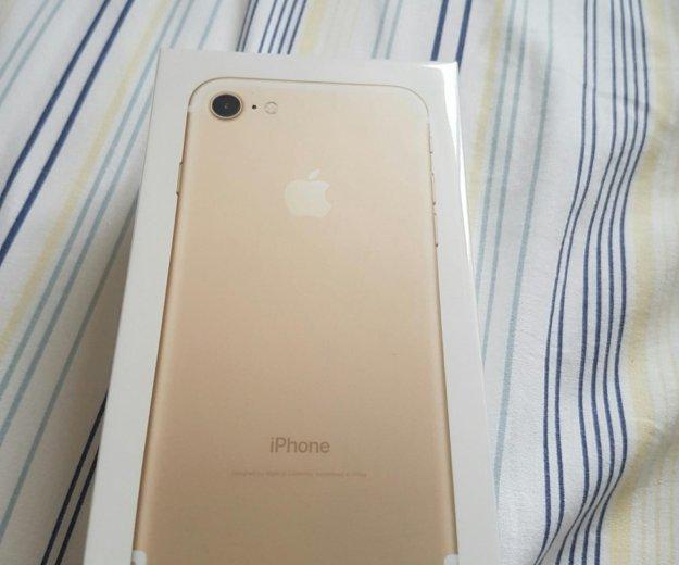 Iphone 7 gold 32 gb. Фото 1. Новосибирск.