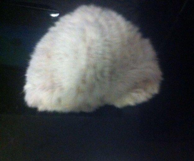 Шапка из вязаного кролика. Фото 2. Красноярск.