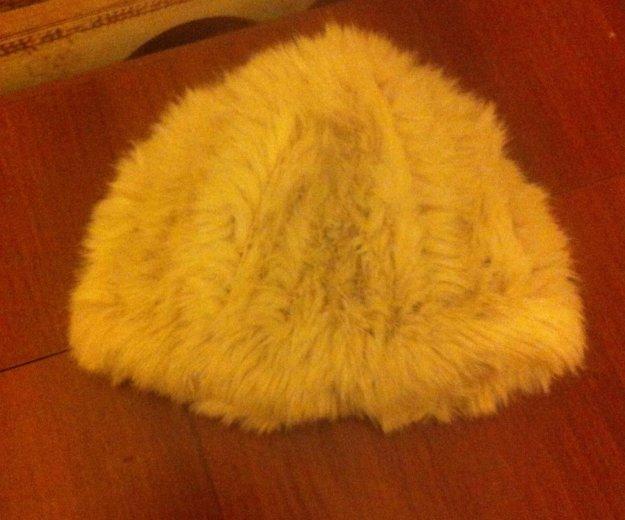 Шапка из вязаного кролика. Фото 1. Красноярск.