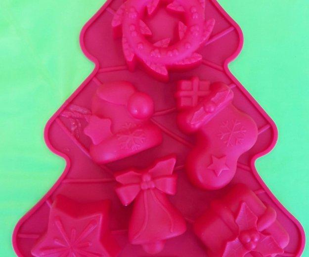 Новогодние силиконовые формы. Фото 3. Химки.