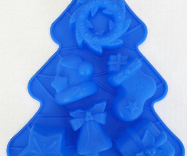 Новогодние силиконовые формы. Фото 1. Химки.