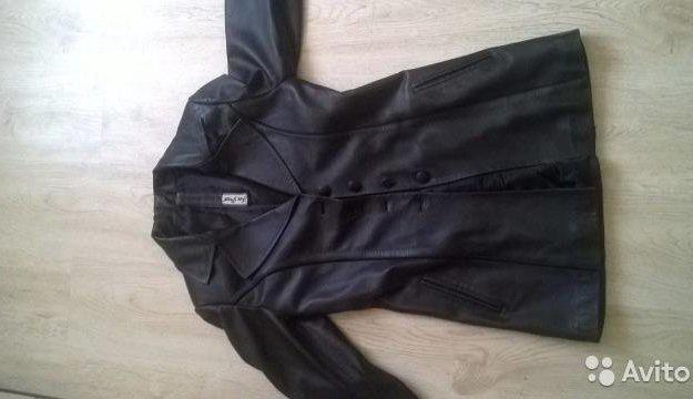 Кожанный пиджак. Фото 1. Москва.