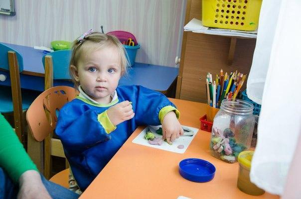 Монтессори занятия для детей 0-3 лет. Фото 1. Москва.