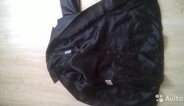 Кожанный пиджак. Фото 2. Москва.