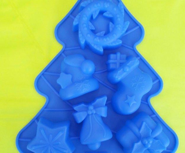 Новогодние силиконовые формы. Фото 2. Химки.