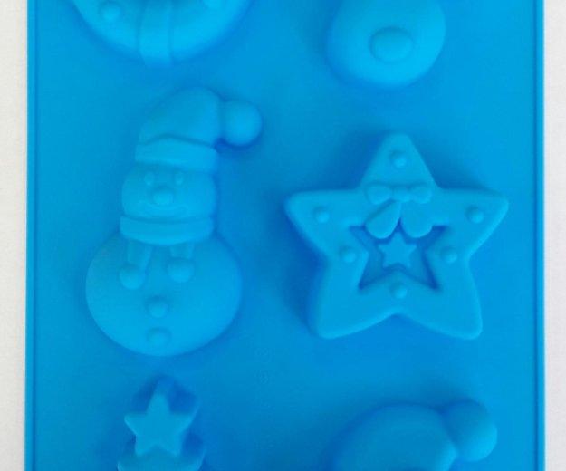 Новогодние силиконовые формы. Фото 4. Химки.