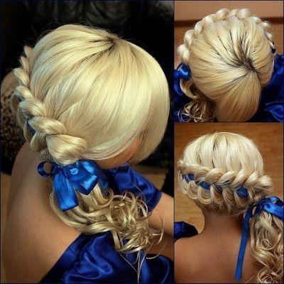 Плетение кос, сделаю локоны , кудри. Фото 4. Магнитогорск.