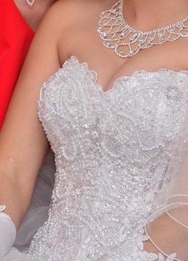 Платье свадебное. Фото 2. Астрахань.