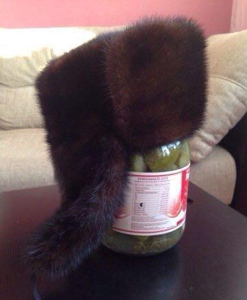 Норковая шапка-ушанка. Фото 1. Новосибирск.