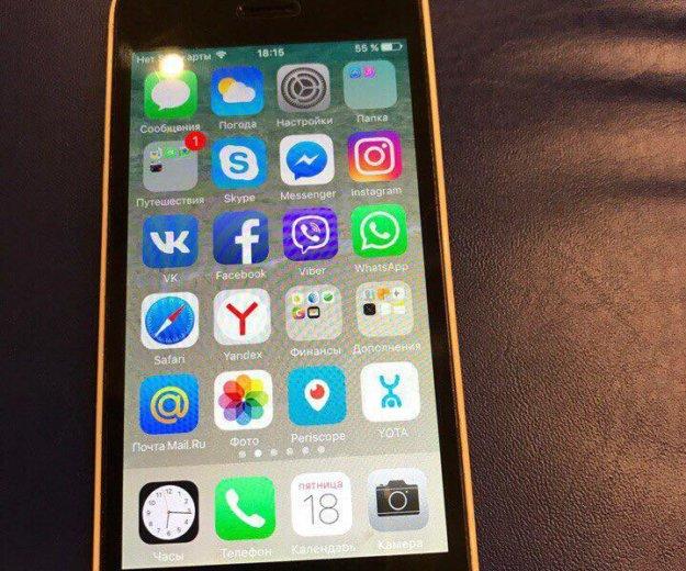Айфон 5с. Фото 2. Сочи.