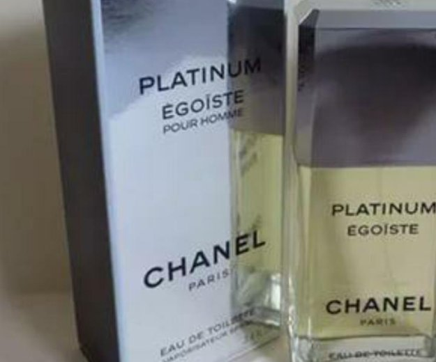 Egoiste platinum (100ml). Фото 1. Москва.
