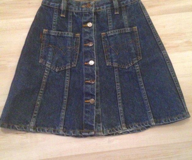 Юбка джинсовая. Фото 1. Красногорск.