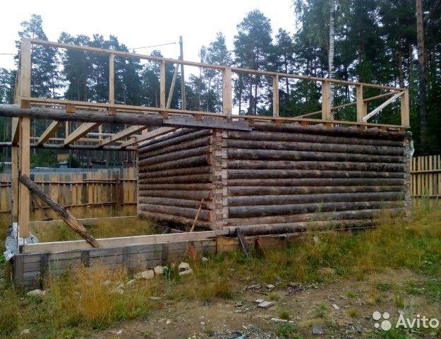 Сруб. Фото 1. Новоуральск.