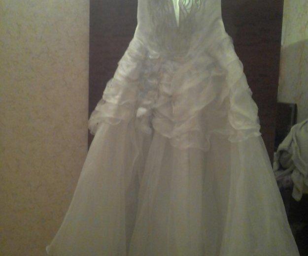 Свадебное платье(бальное). Фото 1. Псков.