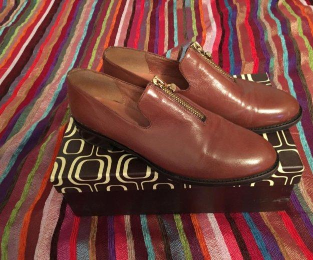 Кожаные ботинки 36р. Фото 3. Москва.