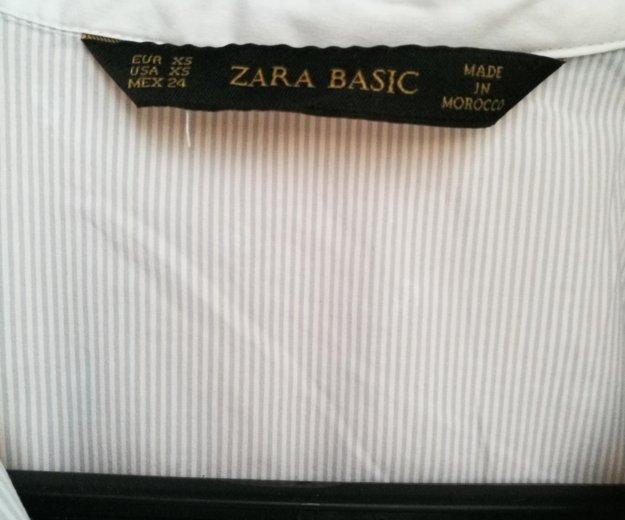 Рубашка zara размер xs. Фото 2. Москва.