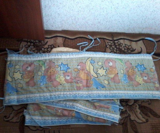 Бортики в кроватку. Фото 1. Омск.