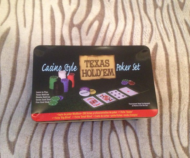 Набор для игры в покер. Фото 1. Тула.