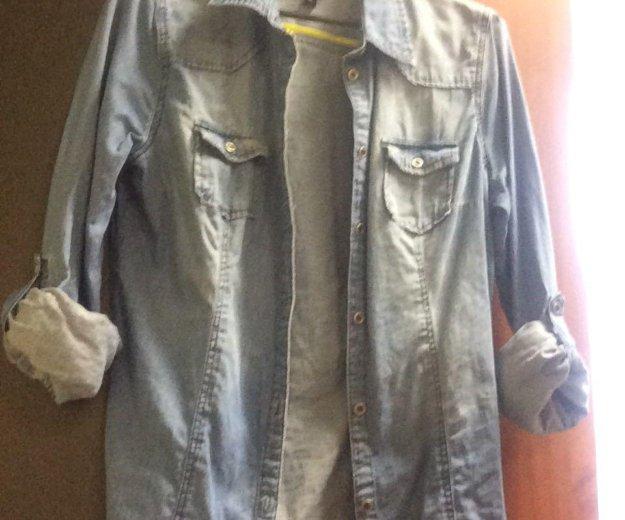Джинсовая рубашка. Фото 1. Москва.