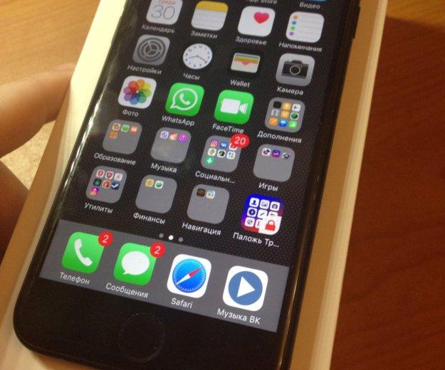 Iphone 7 black 128 gb. Фото 2. Домодедово.