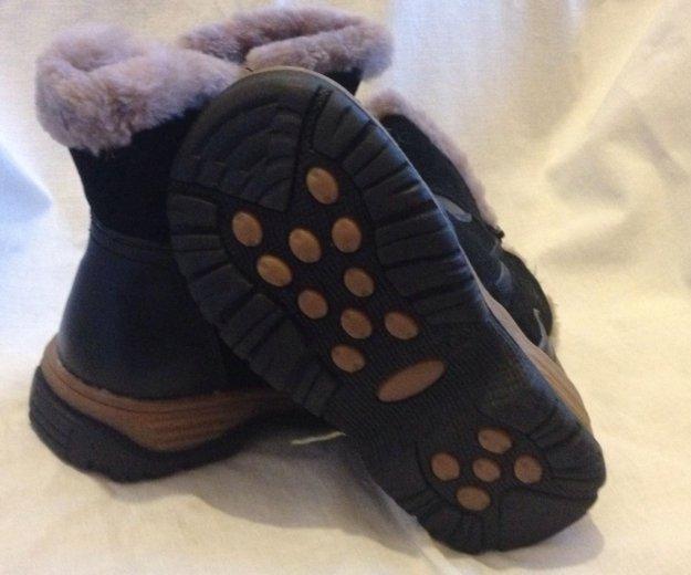 Ботинки зимние(кожа),размер 30. Фото 4. Казань.