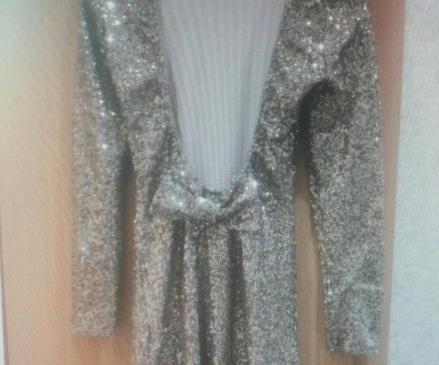 Платье с паетками и открытой спиной. Фото 1. Долгопрудный.