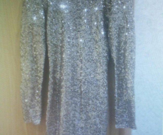 Платье с паетками и открытой спиной. Фото 2. Долгопрудный.