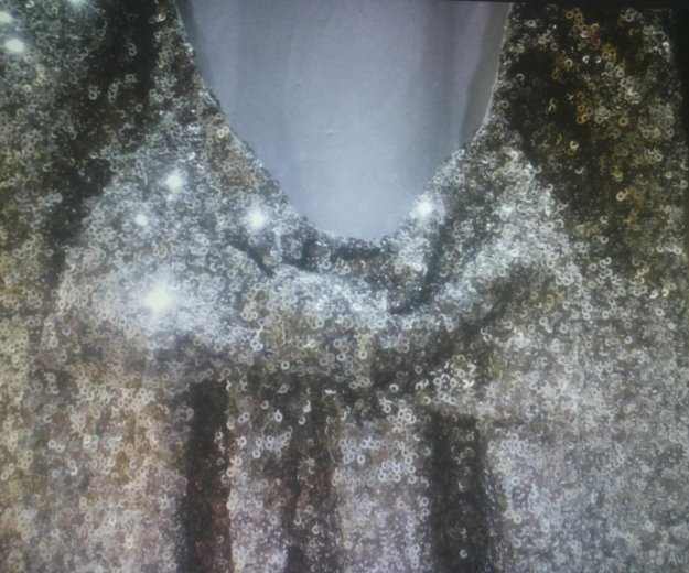 Платье с паетками и открытой спиной. Фото 4. Долгопрудный.