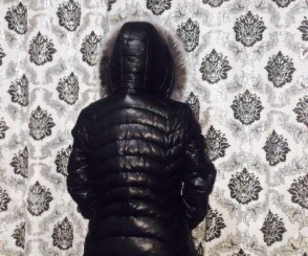 Куртка зимняя экокожа. Фото 2. Москва.