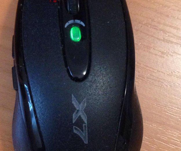Игровая мышь x7. Фото 1.