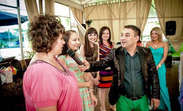 Тамада, ведущий и dj на свадьбу юбилей. Фото 1. Москва.
