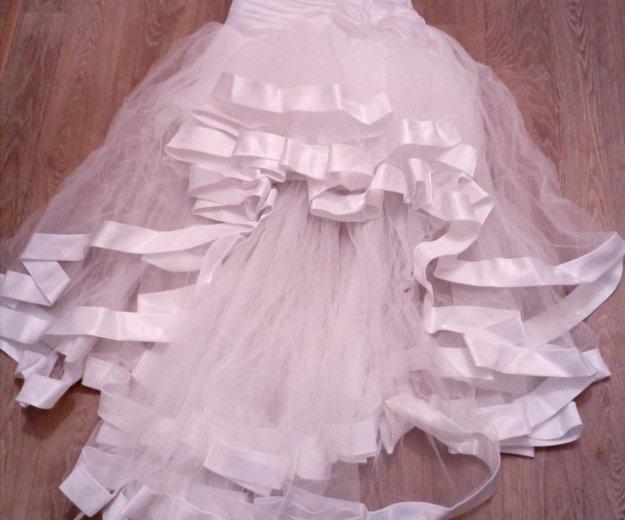 Продается свадебное платье б/у рамер 44. Фото 4. Нижневартовск.