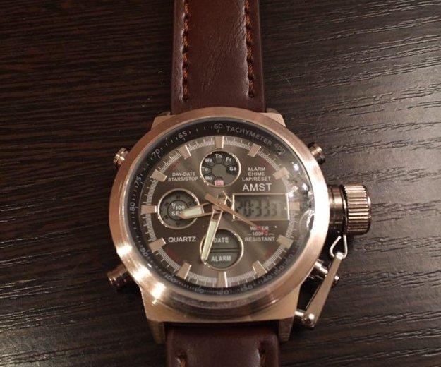 Кварцевые часы amst 3003 b. Фото 1. Ульяновск.