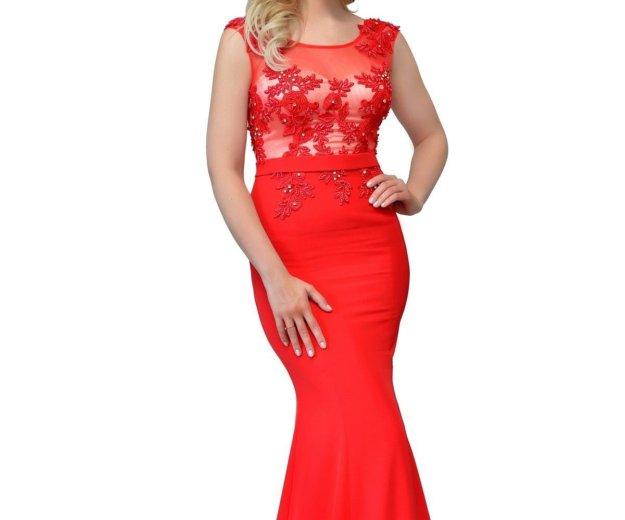 Новое красное платье. Фото 1. Екатеринбург.