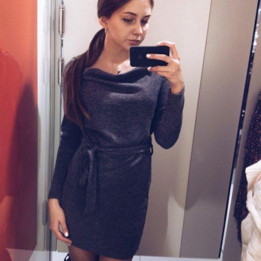 Трикотажное платье. Фото 1. Пермь.