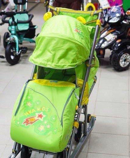 Санки коляска. Фото 1. Белгород.