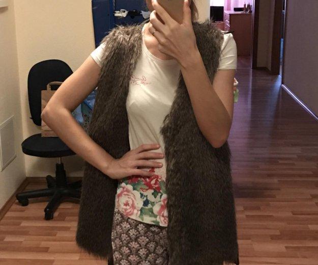 Жилетка с мехом. Фото 2. Екатеринбург.