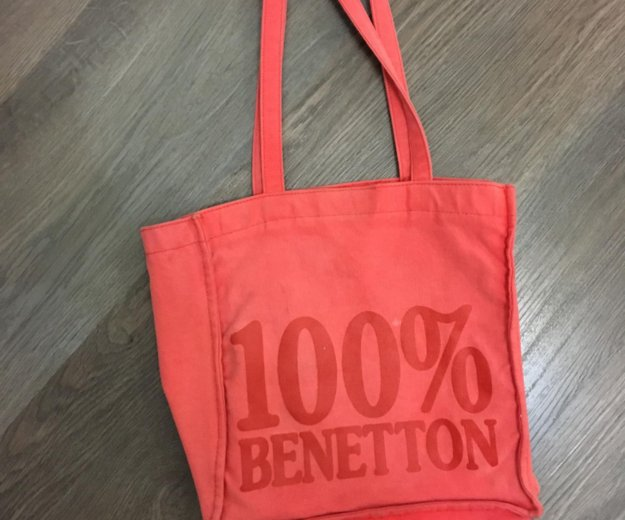 Спортивная сумка 100% benetton . для спорта. sport. Фото 1. Москва.