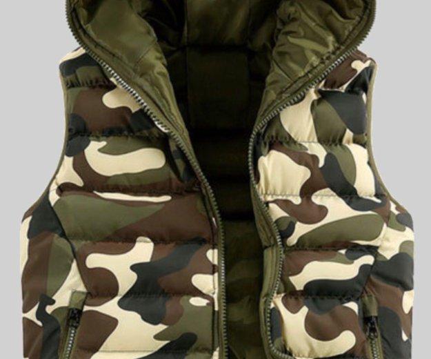 Мужская куртка-жилетка. Фото 1. Владивосток.