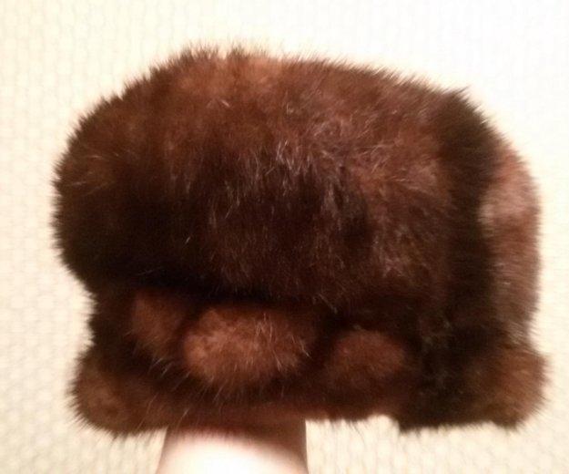 Норковая шапка. Фото 2. Екатеринбург.