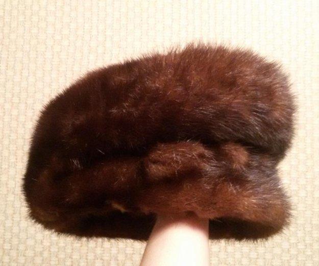 Норковая шапка. Фото 3. Екатеринбург.