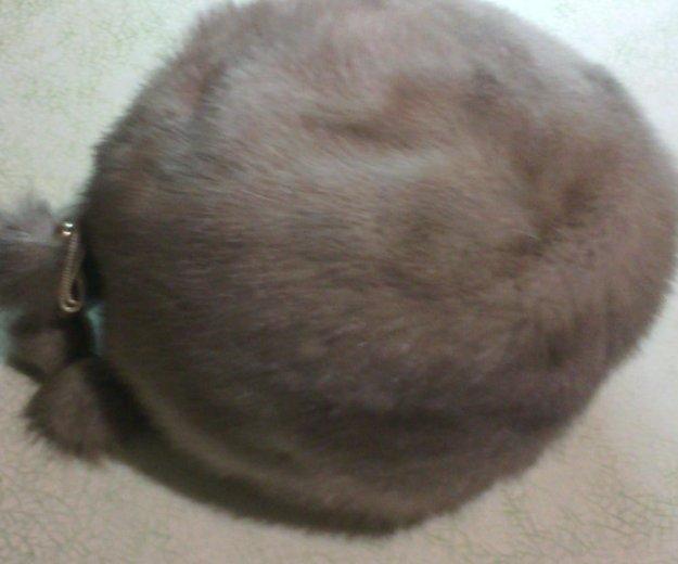 Норковая беретка. Фото 1. Уфа.